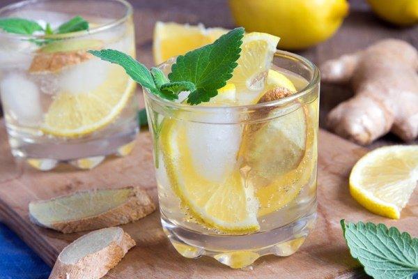 Напиток с имбирем