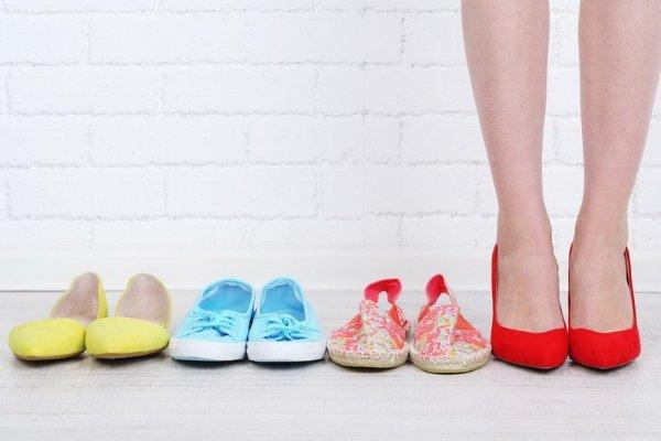 Выбор удобной обуви