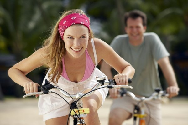 Катание на велосипеде при геморрое