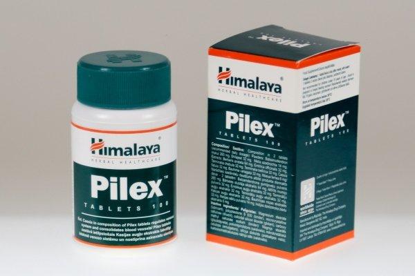 Таблетки Пайлекс от геморроя